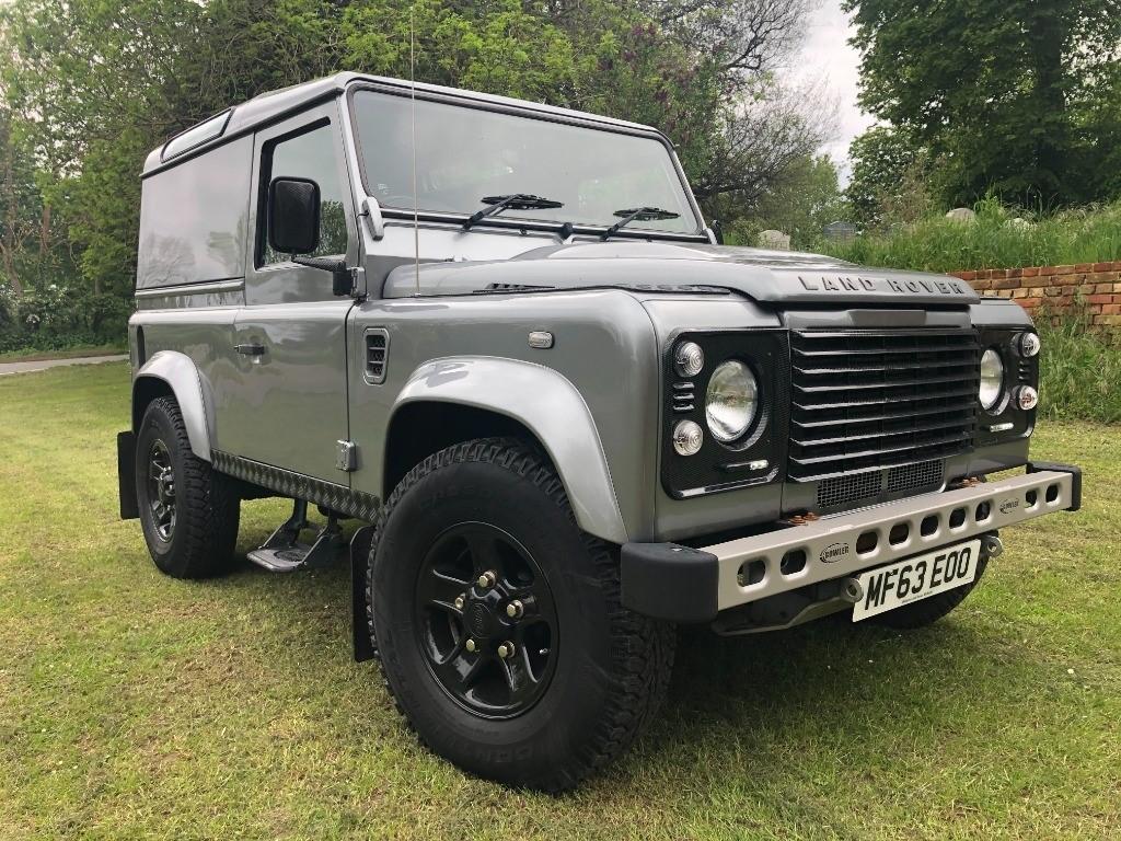 used Land Rover Defender TD HARD TOP in essex