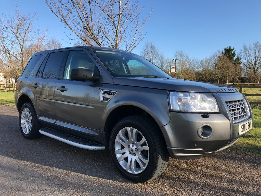 used Land Rover Freelander TD4 HSE in essex