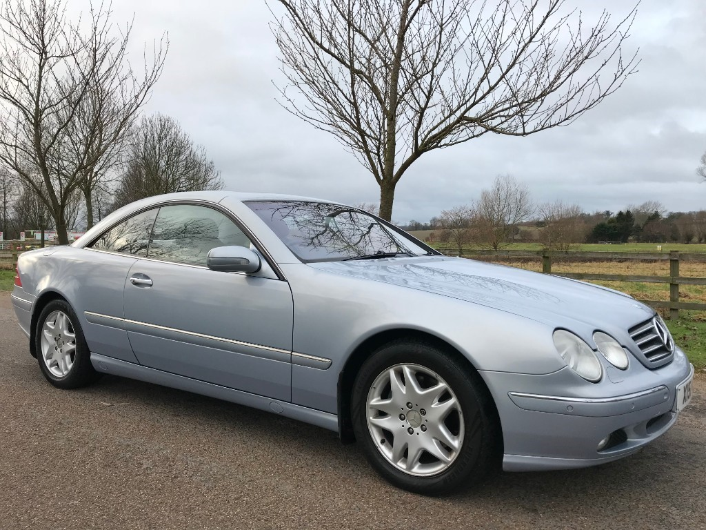 used Mercedes CL500 Auto in essex