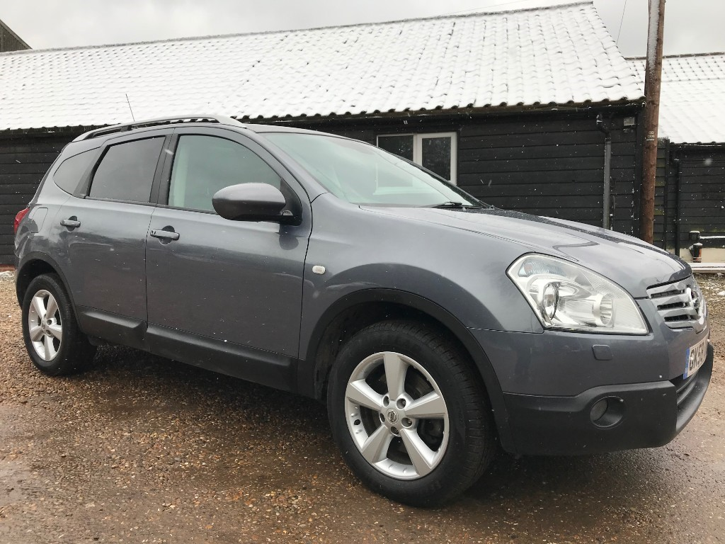 used Nissan Qashqai tekna + 2 DCI in essex