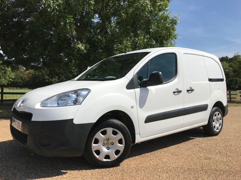 used Peugeot Partner HDI SE L1 850 in essex