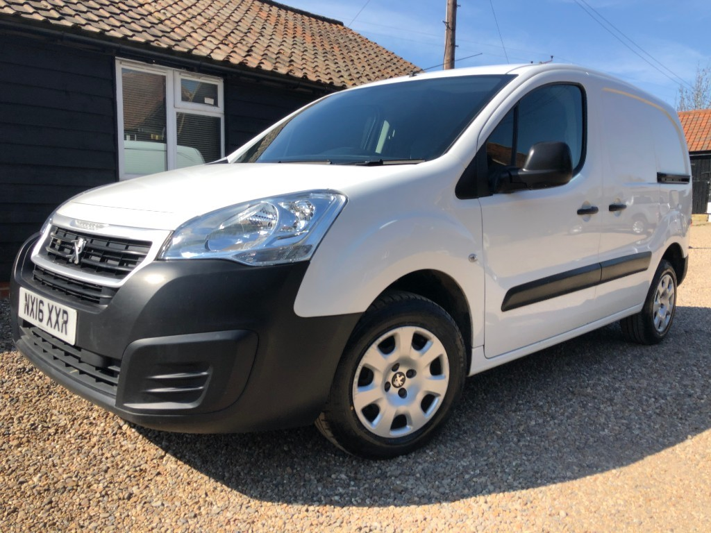used Peugeot Partner HDI S L1 850 in essex