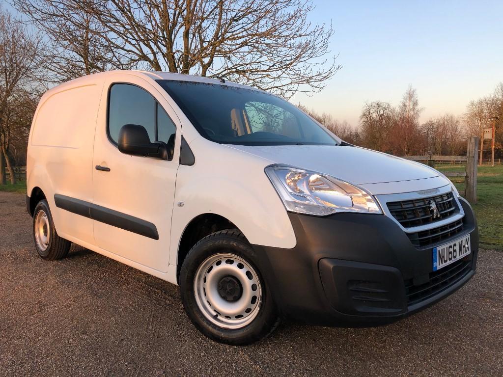 used Peugeot Partner HDI S L1 850 in essex