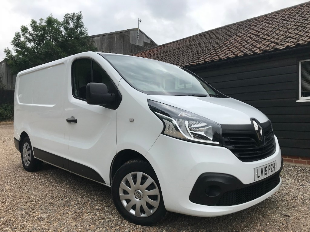 used Renault Trafic SL27 BUSINESS PLUS DCI S/R P/V in essex