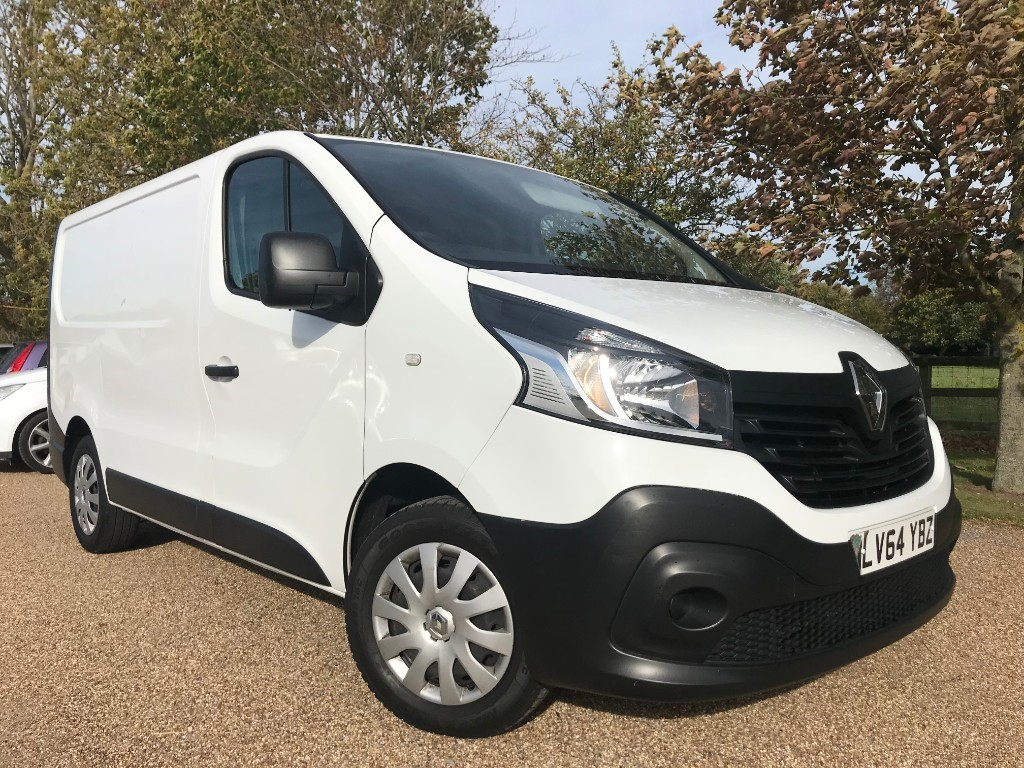 used Renault Trafic SL27 BUSINESS DCI S/R P/V in essex