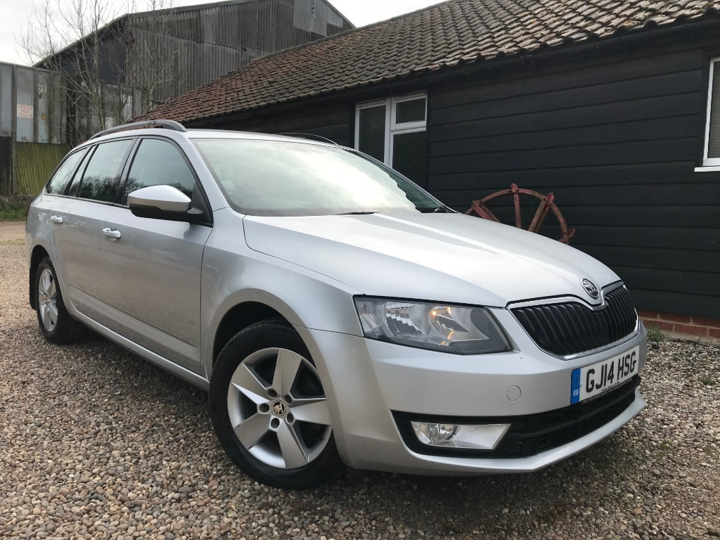 used Skoda Octavia SE TDI CR in essex