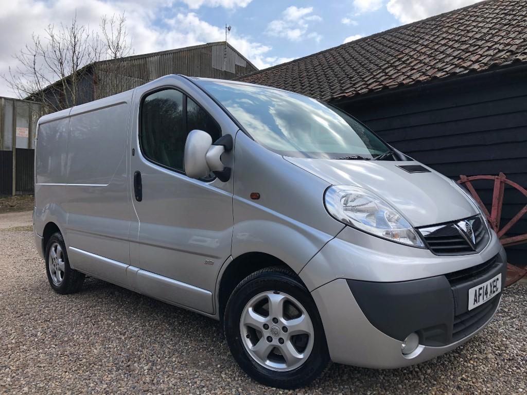 used Vauxhall Vivaro 2900 CDTI SPORTIVE P/V in essex