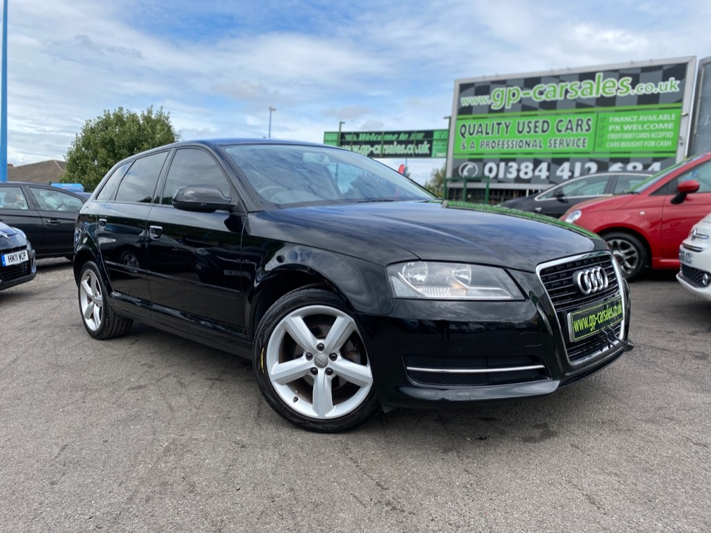 used Audi A3 SPORTBACK MPI TECHNIK in west-midlands