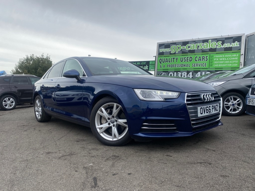 used Audi A4 TDI ULTRA SPORT in west-midlands