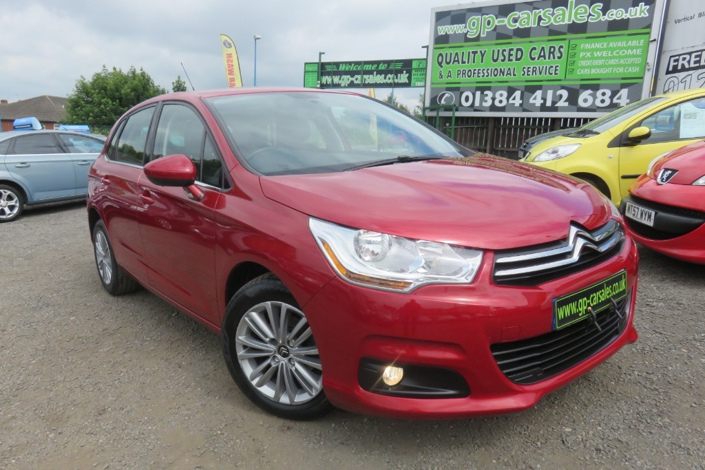 used Citroen C4 HDI VTR PLUS in west-midlands