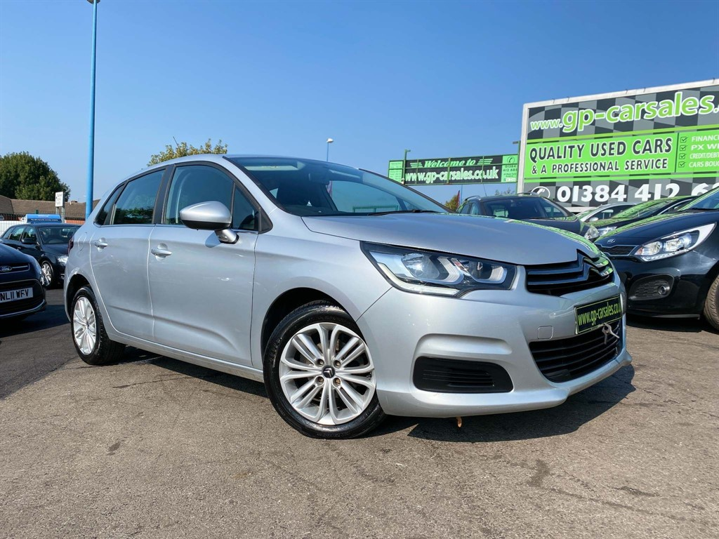 used Citroen C4 BlueHDi Feel (s/s) in west-midlands