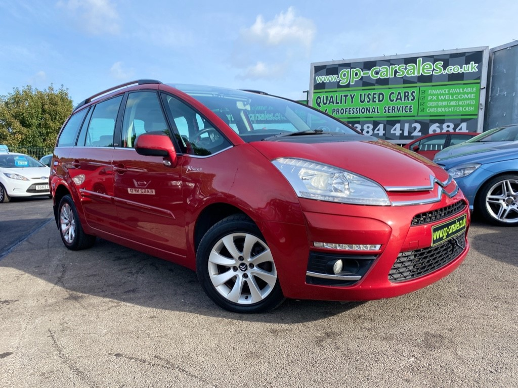 used Citroen C4 HDI VTR PLUS GRAND PICASSO in west-midlands
