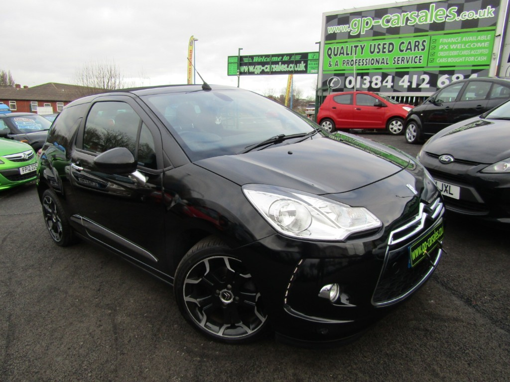 used Citroen DS3 DSTYLE PLUS in west-midlands