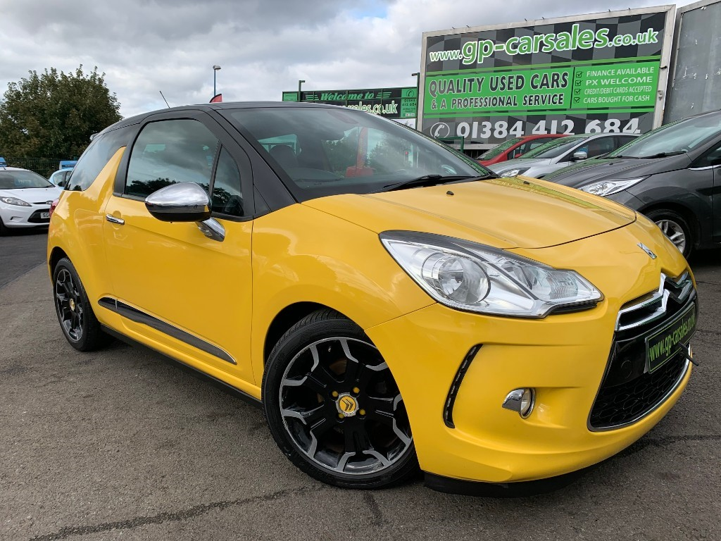 used Citroen DS3 E-HDI AIRDREAM DSPORT PLUS in west-midlands