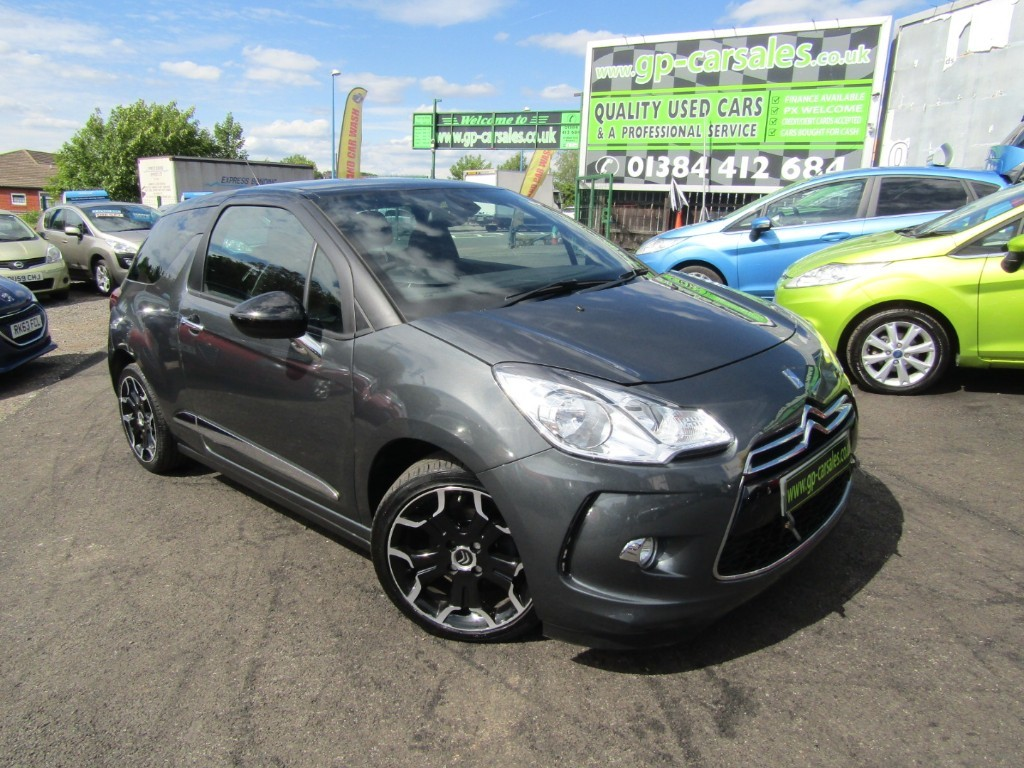 used Citroen DS3 E-HDI DSTYLE PLUS in west-midlands