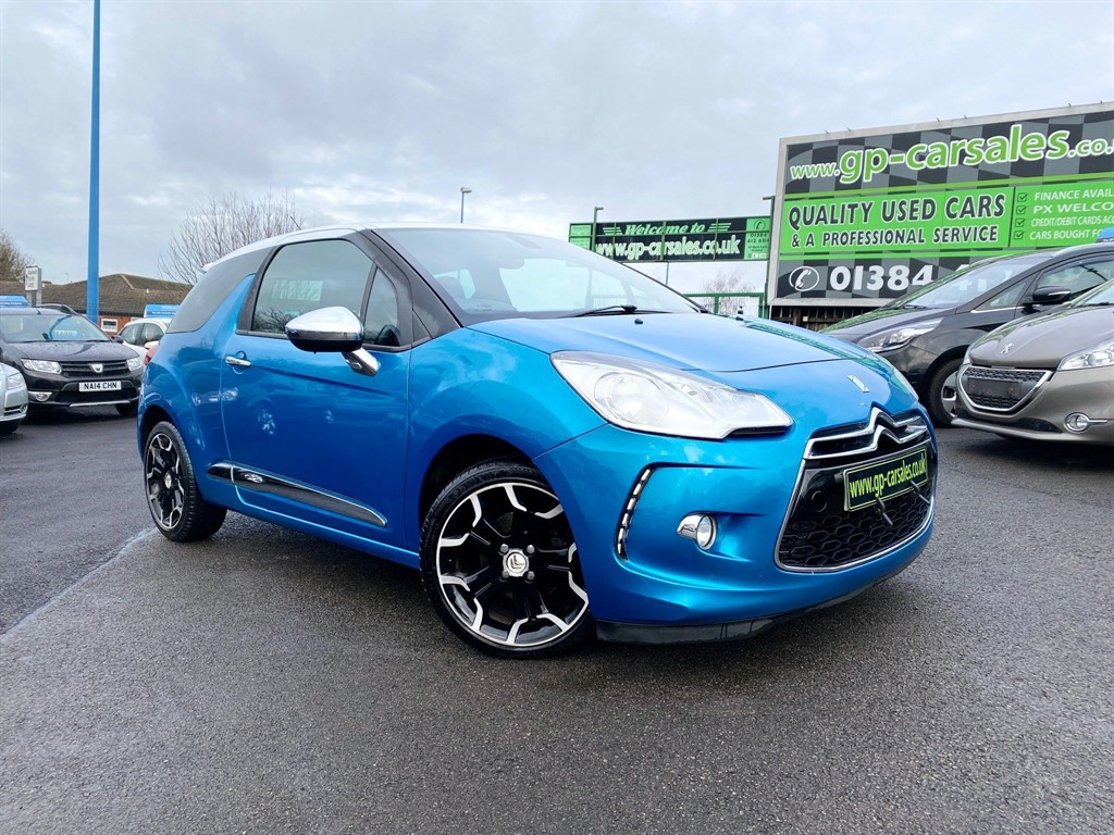 used Citroen DS3 Airdream DSport Plus in west-midlands