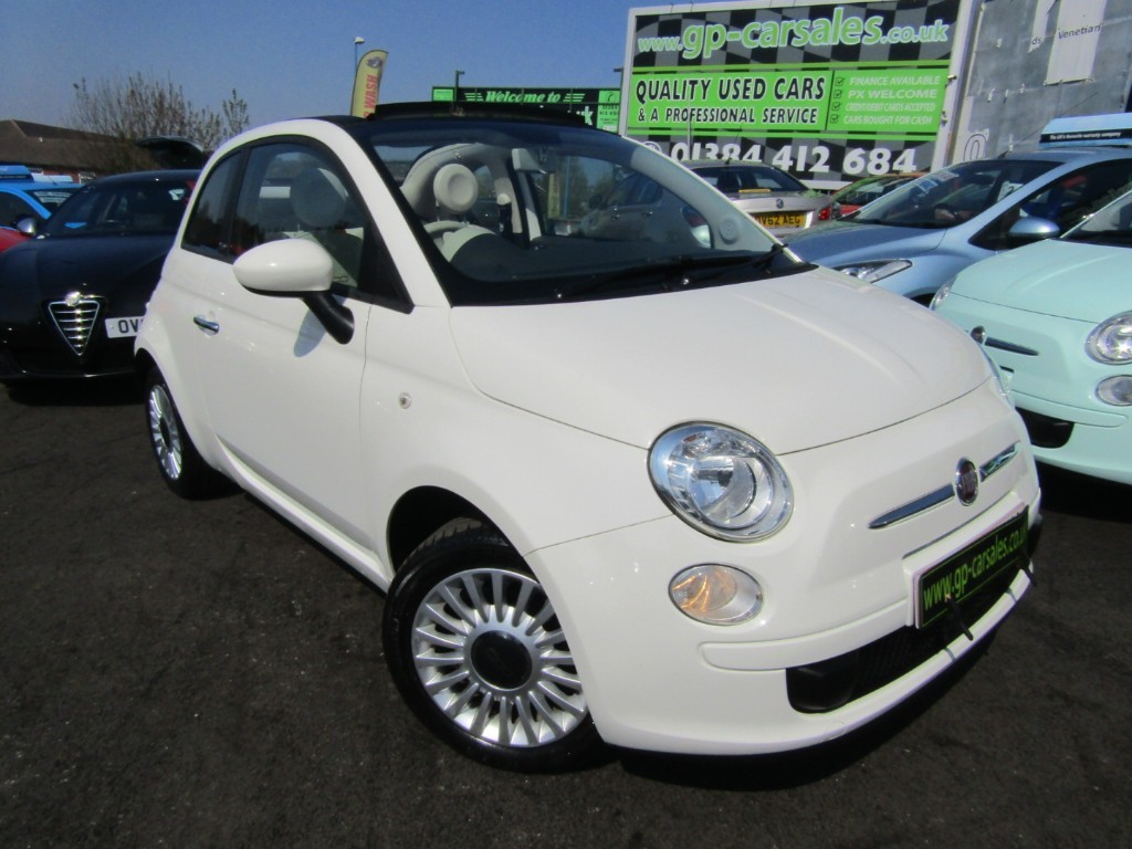 used Fiat 500 C POP in west-midlands