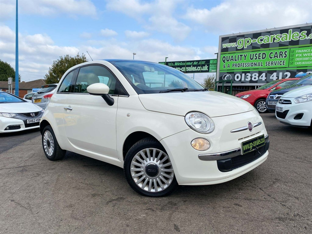 used Fiat 500 1.2 Lounge (s/s) in west-midlands