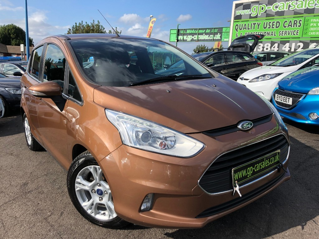 used Ford B-Max ZETEC TDCI in west-midlands
