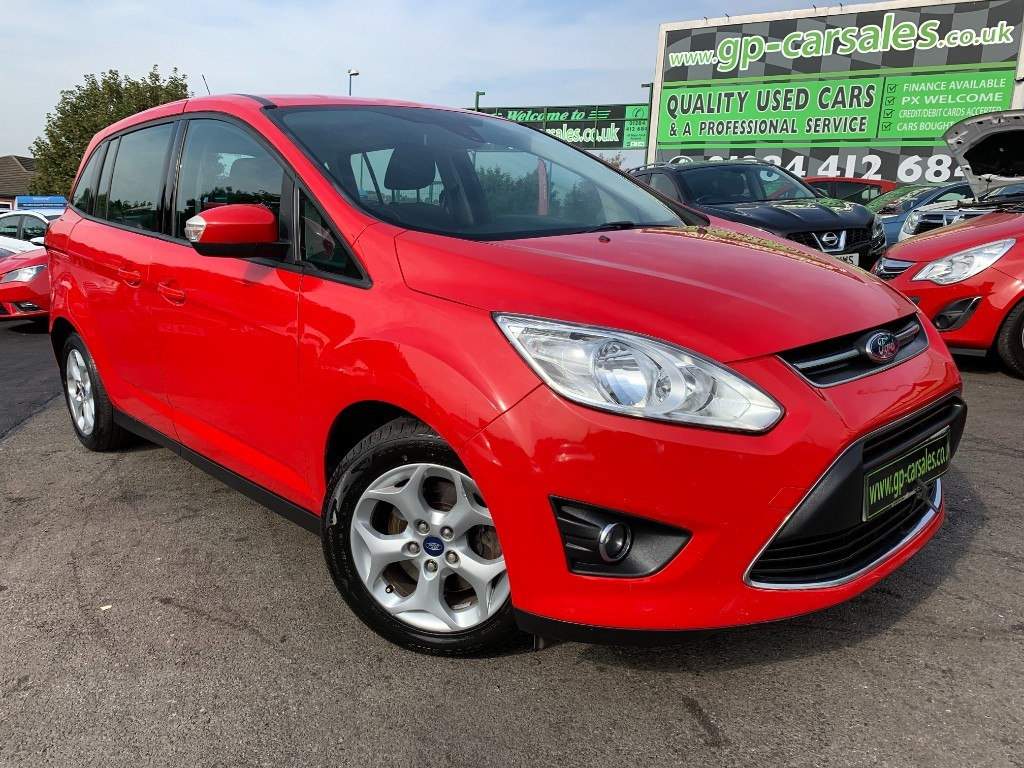 used Ford C-Max GRAND ZETEC TDCI in west-midlands