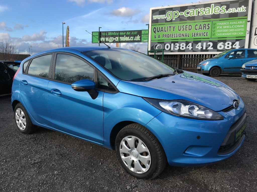 used Ford Fiesta ECONETIC TDCI in west-midlands