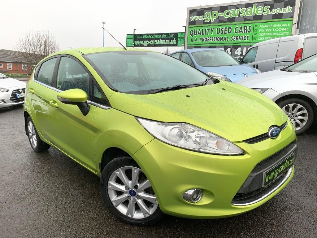 used Ford Fiesta ZETEC in west-midlands