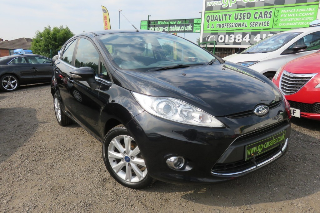 used Ford Fiesta ZETEC TDCI in west-midlands