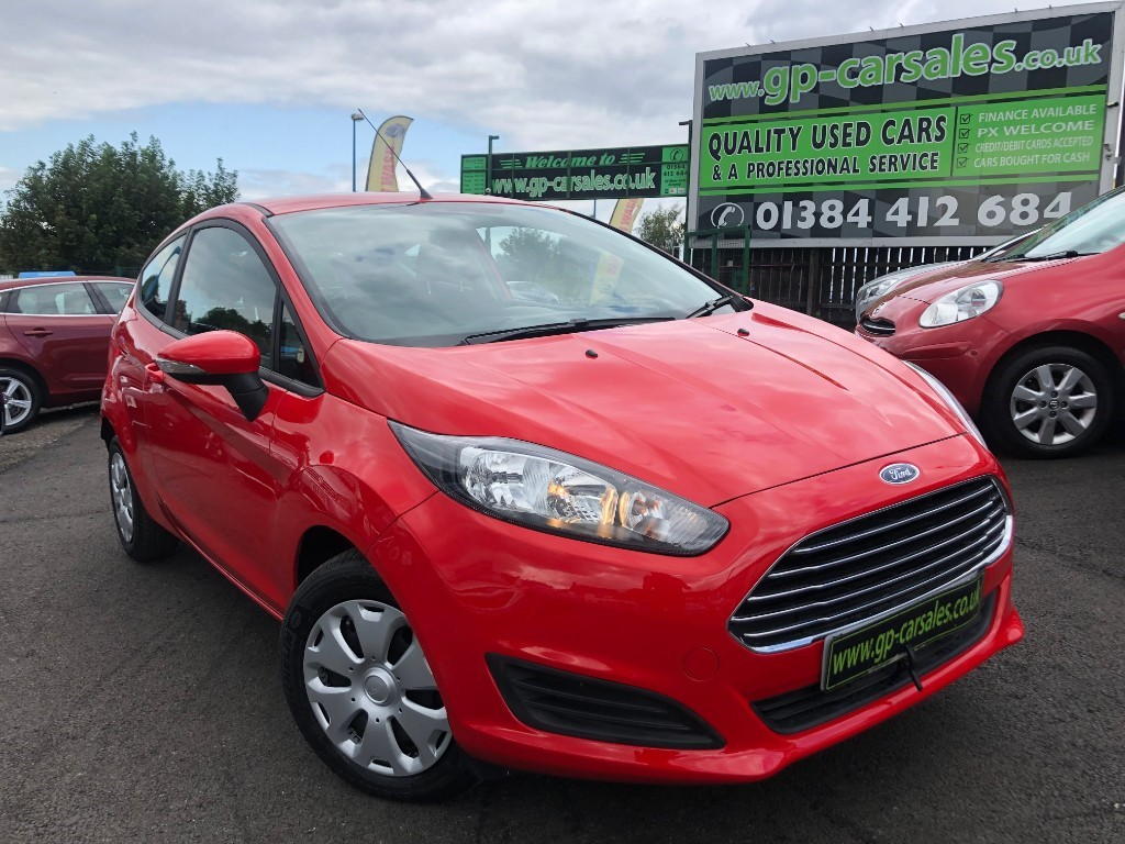 used Ford Fiesta STYLE ECONETIC TDCI in west-midlands