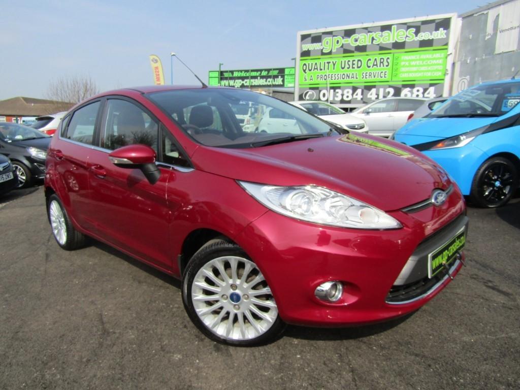 used Ford Fiesta TITANIUM TDCI in west-midlands