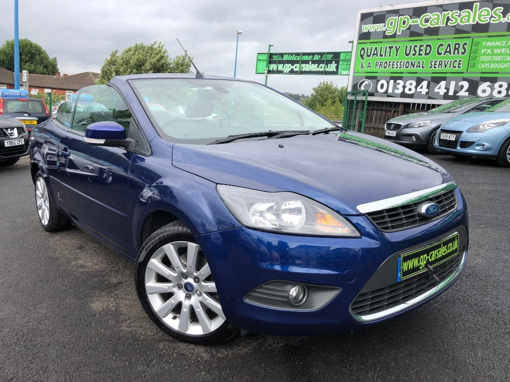 used Ford Focus CC3 in west-midlands