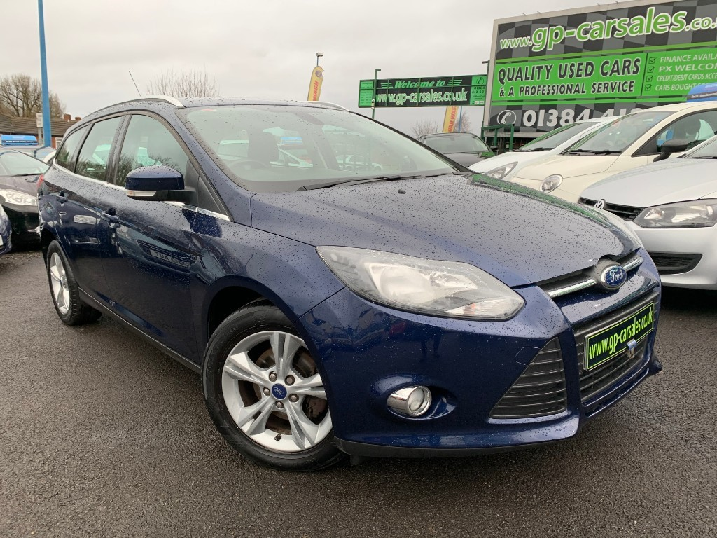 used Ford Focus ZETEC TDCI in west-midlands