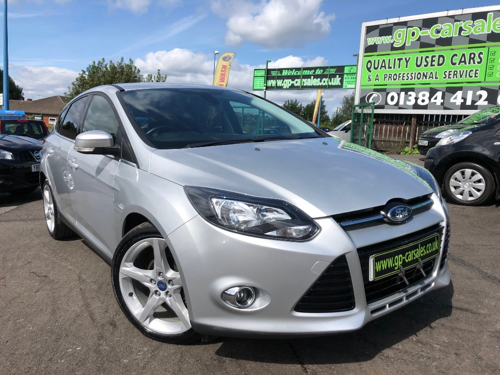 used Ford Focus TITANIUM NAVIGATOR TDCI in west-midlands