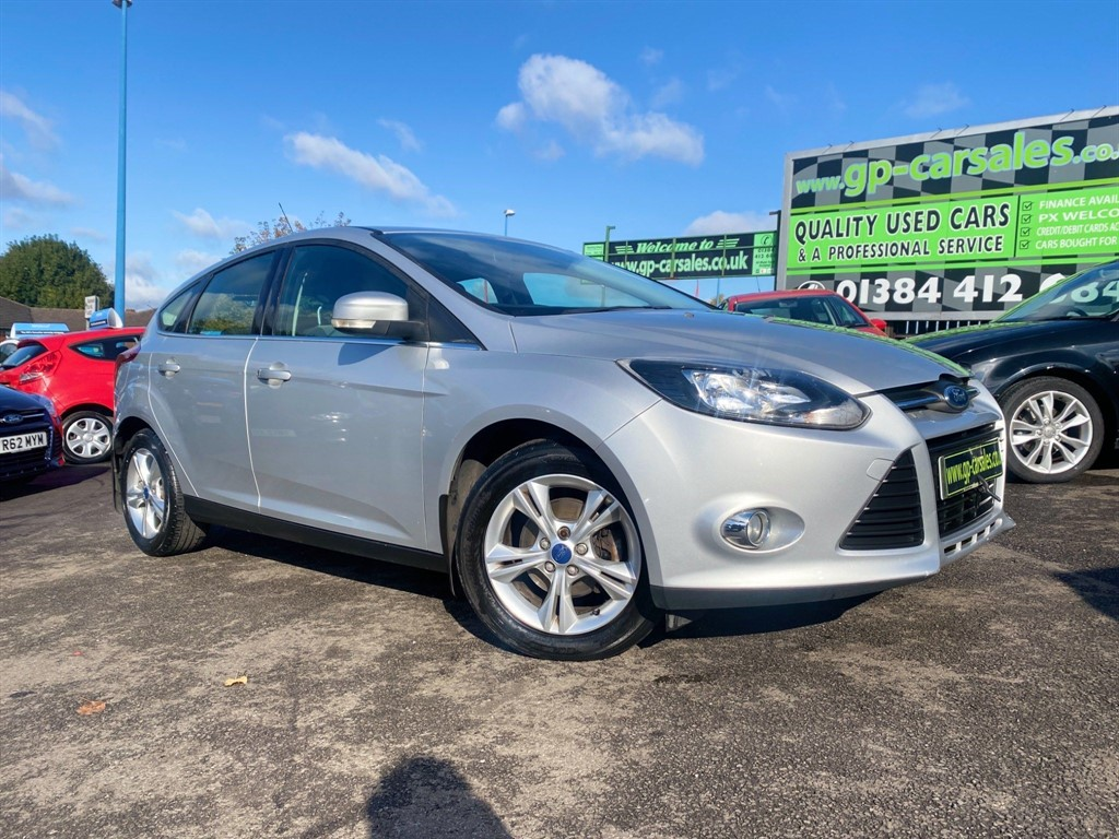 used Ford Focus Ti-VCT Zetec in west-midlands