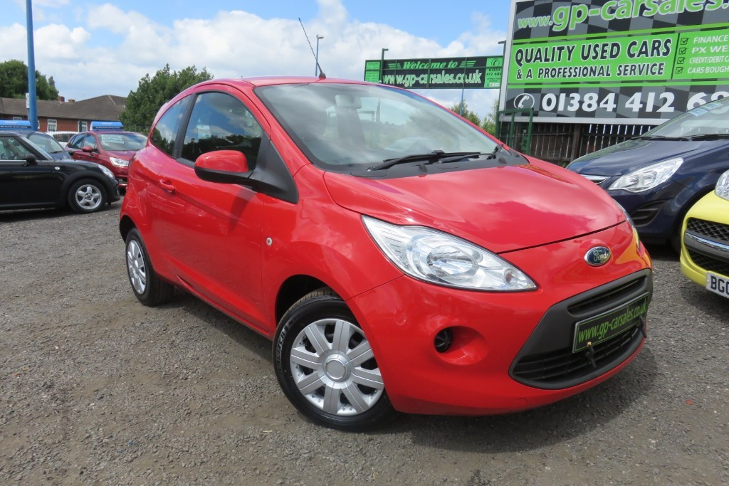 used Ford KA EDGE in west-midlands