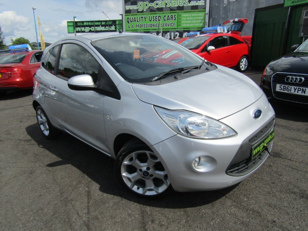 used Ford KA TITANIUM in west-midlands