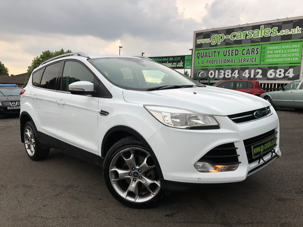 used Ford Kuga TITANIUM TDCI in west-midlands
