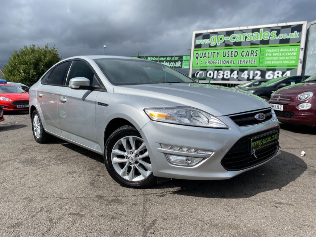 used Ford Mondeo ZETEC TDCI in west-midlands