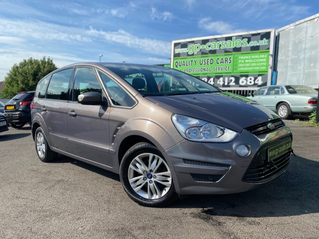 used Ford S-Max ZETEC TDCI in west-midlands