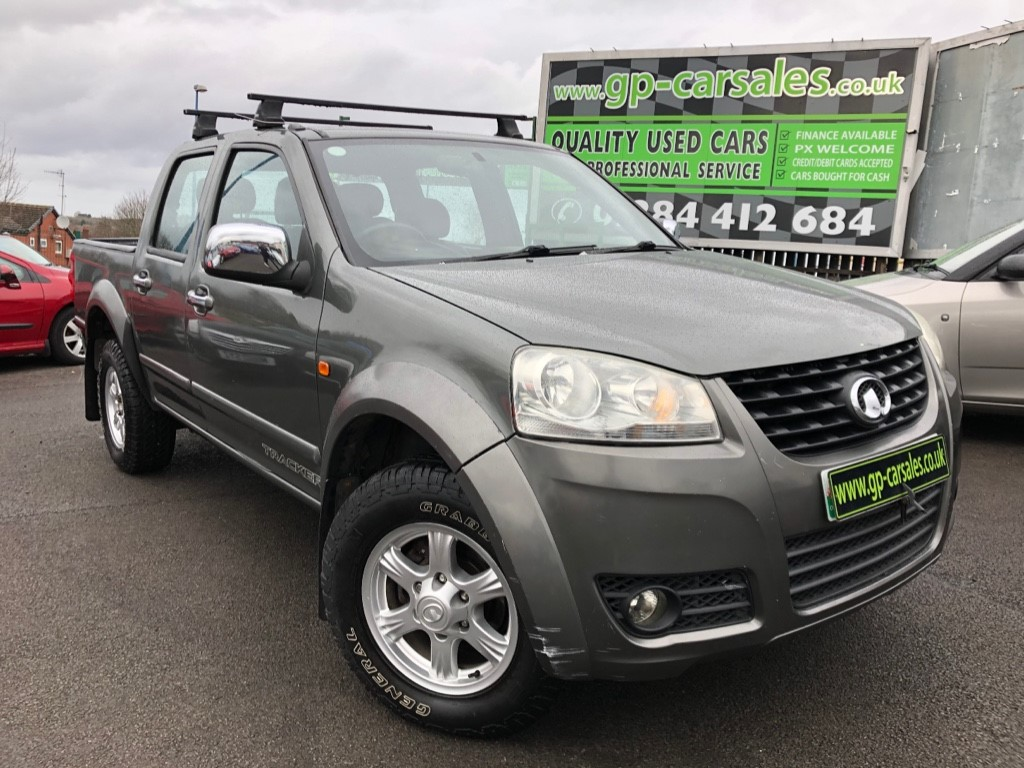 used Great Wall Steed TD TRACKER 4X4 DCB in west-midlands