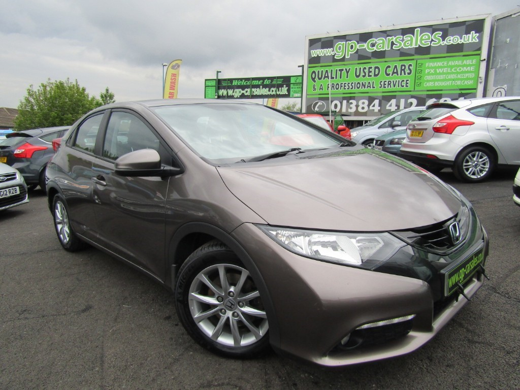 used Honda Civic I-DTEC EX in west-midlands