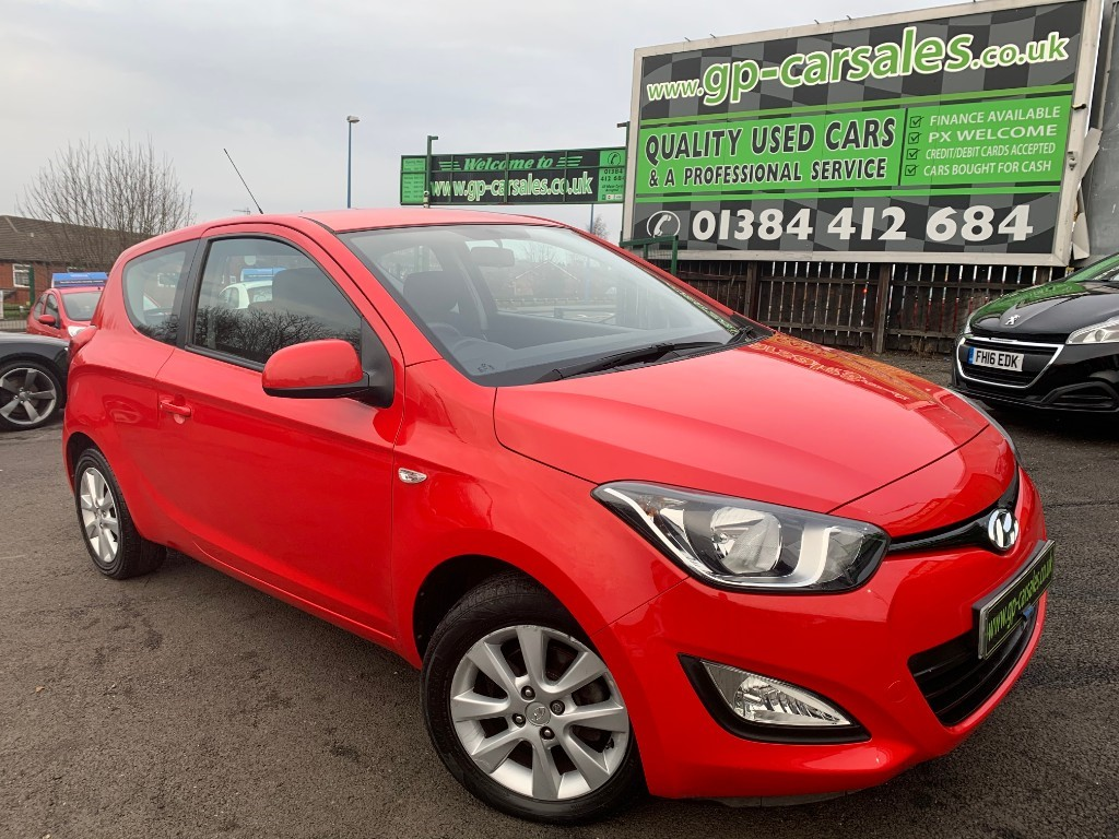 used Hyundai i20 ACTIVE in west-midlands