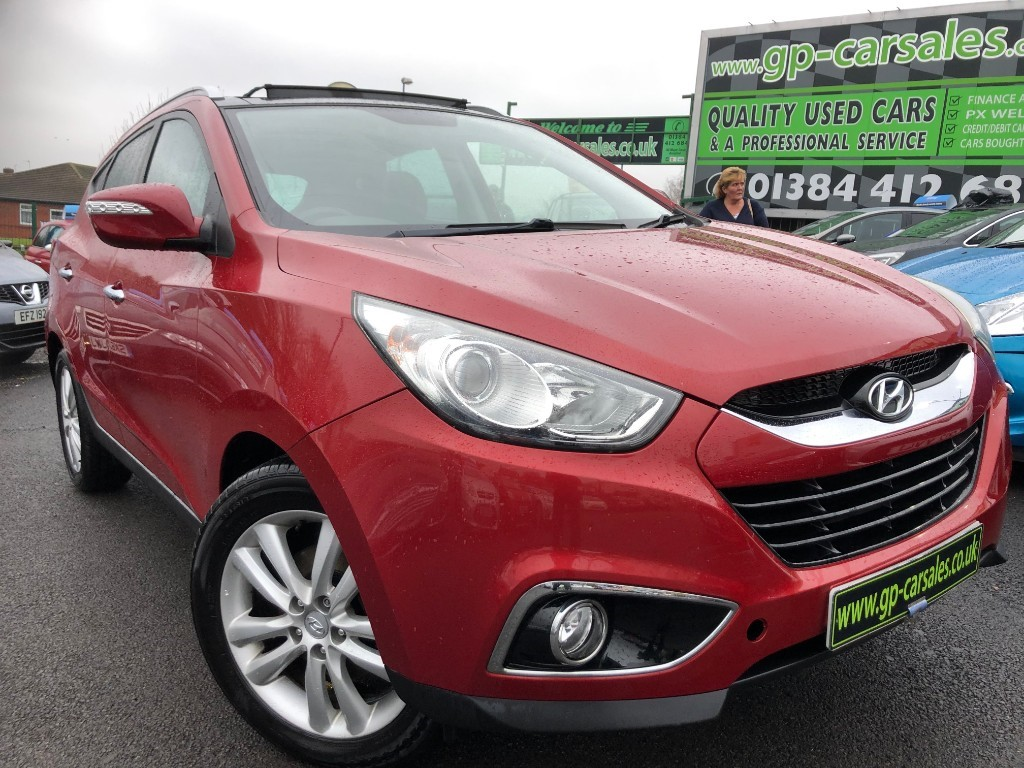 used Hyundai ix35 CRDI PREMIUM in west-midlands