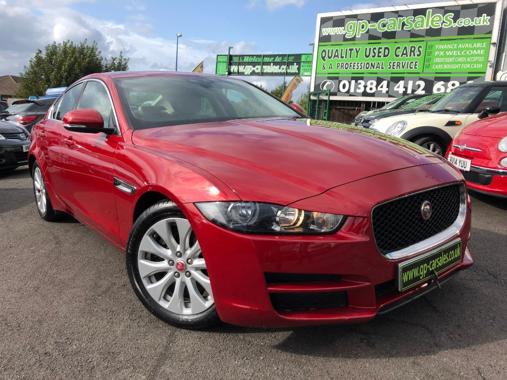 used Jaguar XE PRESTIGE in west-midlands