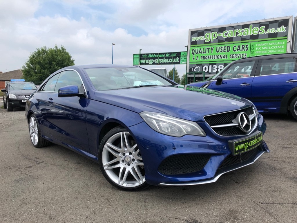 used Mercedes 350 E  D AMG LINE EDITION in west-midlands