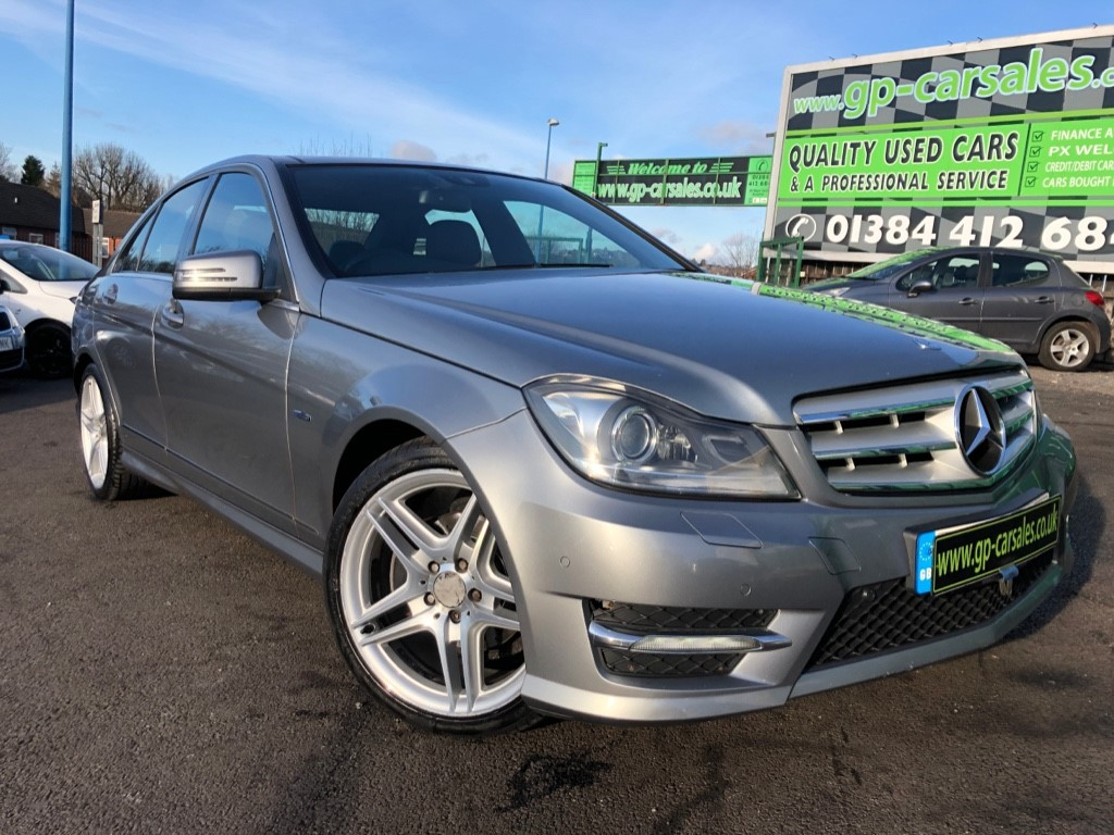 used Mercedes C250 CDI BLUEEFFICIENCY SPORT in west-midlands