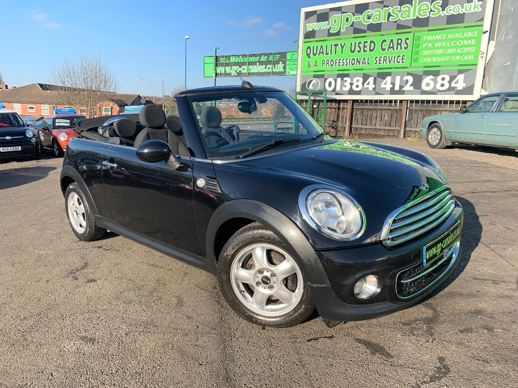used MINI Convertible COOPER D in west-midlands