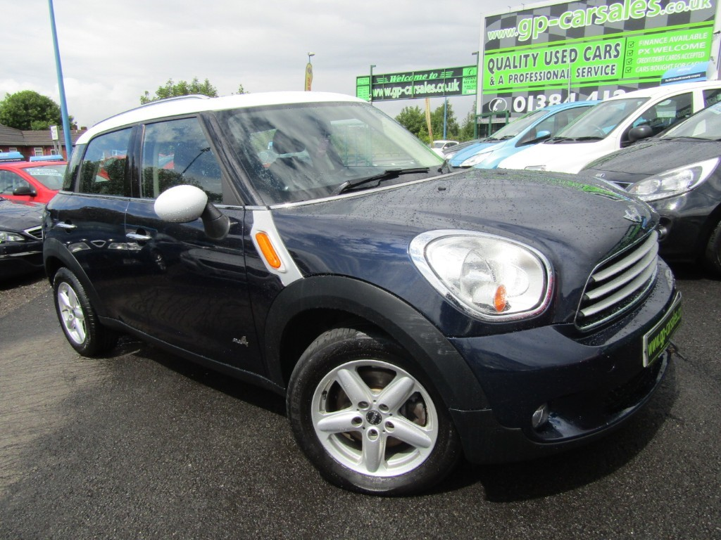 Used Starlight Blue Metallic Mini Countryman For Sale West Midlands