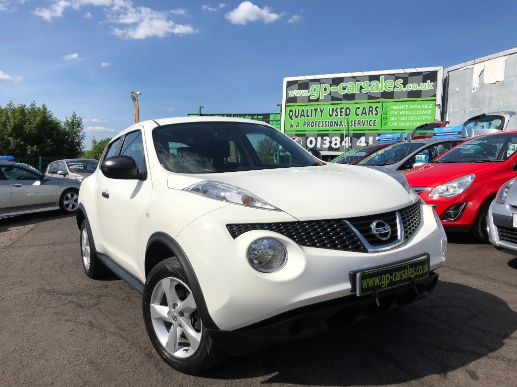 used Nissan Juke VISIA DCI in west-midlands