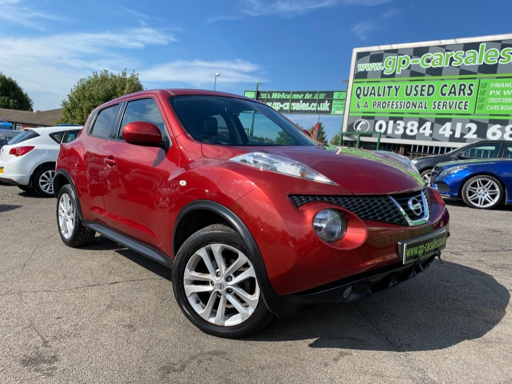 used Nissan Juke TEKNA DCI in west-midlands