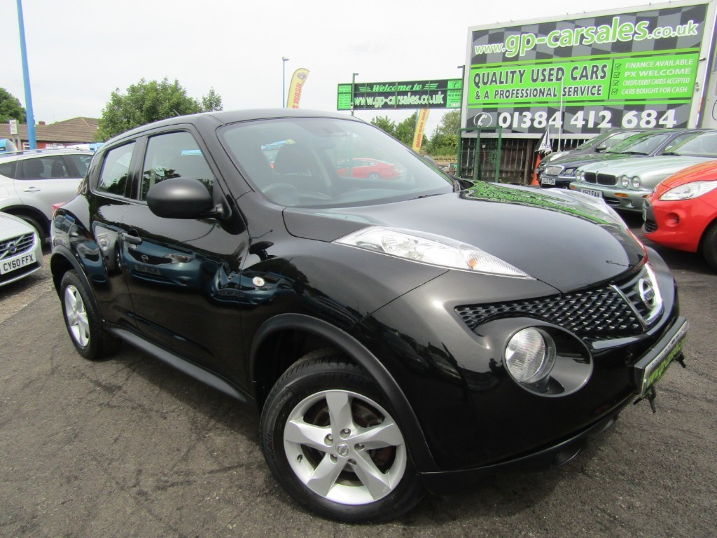 used Nissan Juke VISIA in west-midlands